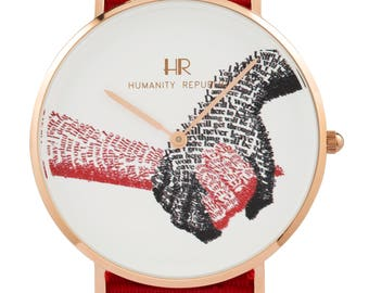 """Fashion Watch: """"Together"""", Together, Rose Gold Case from Humanity Republic"""