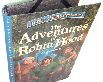 SALE Ereader Cover for Nook Kindle Kobo - IPad Mini cover - Adventures of Robin Hood Book Cover for Tablet Devices