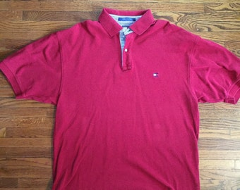 Tommy Hilfiger Polo Vintage 90s