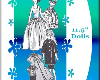 Newspaper Mail Order Pattern #4891 For Vintage Barbie