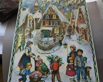 Advent Calendar (pic#1), German Christmas, magical, picture advent calendar/ christmascountdown with kids
