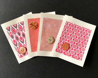 HandMade Greeting Cards (Tickled Pink)