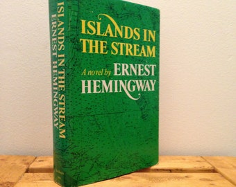 Islands in the Stream by Ernest Hemingway - Vintage 1970 Hardcover Book