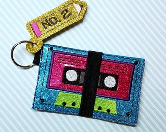 DIGITAL DOWNLOAD ITH 5x7 Cassette Cash and Card Wallet System