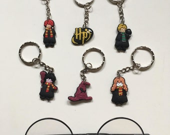 Keychain - Harry Potter inspired