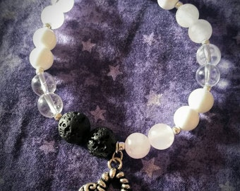 Crystal Essential Oil Diffuser Bracelet