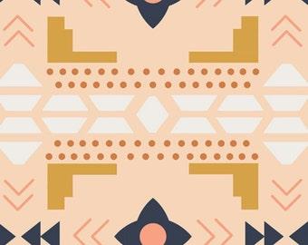 Arizona Desert Blanket in Desert by April Rhodes for Art Gallery Cotton Fabric - 1 Yard - One Yard