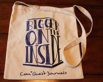 Con*Quest Dead Inside Handled Canvas Convention Tote Bag