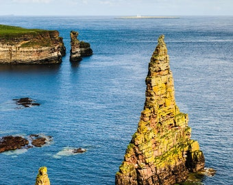 iphone Wallpaper, Duncansby Sea Stacks , Cell phone background, iPhone lock screen, Cell phone wallpaper, Phone background
