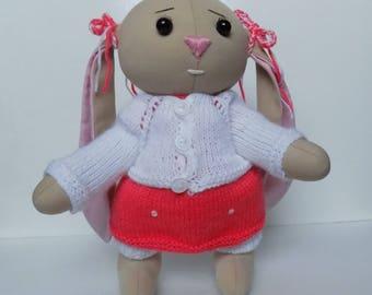 Toys & Games Toys Baby Toddler Toys babies crinkle toy handmade knitted toys doll  child Babi Girl  Gift bunni kidsdekor Stuffed Animals