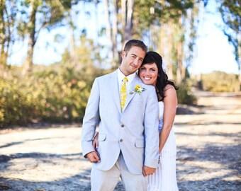 Custom Neckties Wedding Neckties Yellow Neckties Mens Neckties