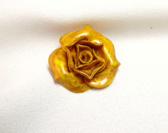 Autumn sun flower cabochon