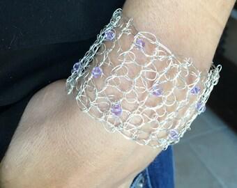 Wire Crochet Bracelet #2