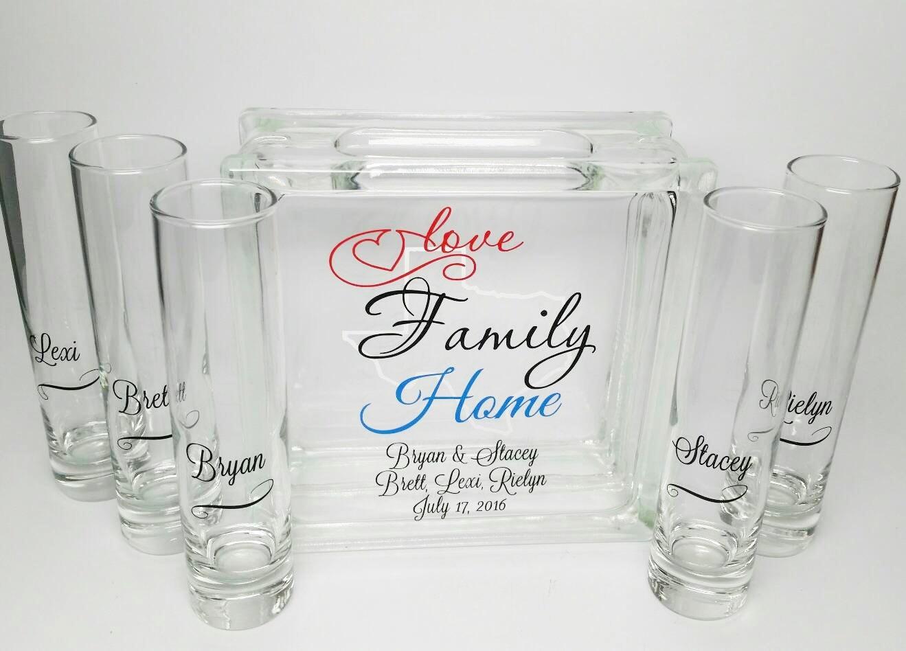 Blended Family Sand Set Unity Candle Alternative Sand
