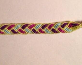 Braided Pattern Friendship Bracelet