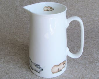2 Pint Rabbit Jug