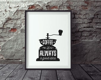 Poster coffee posters kitchen, coffee poster