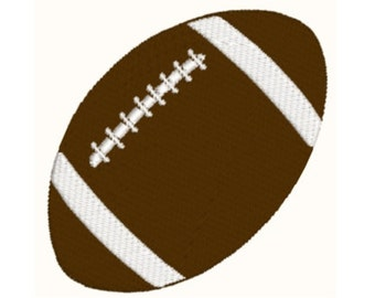 Football Machine Embroidery Design - 3 Sizes - Instant Download Design