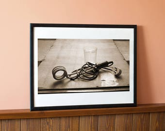 The old boiler, Still life print, Still life photo, Wall art print, Instant download