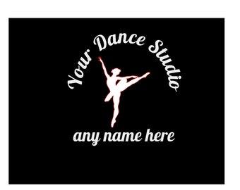 Dance Studio Decal/cheer/gymnastics decal/car decal/outdoor sports/dance