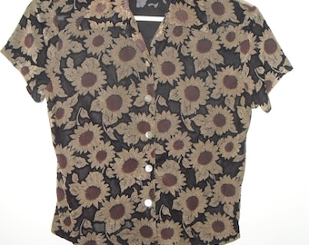 Sunflower Button-Up