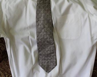 100% Silk Vintage Pierre Cardin Tie