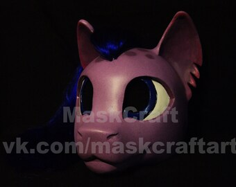 Pony Helmet with hairs from MyLittlePony by MaskCraft (Size 60-62)