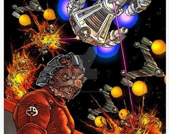 "The Last Starfighter Print 11x17"""