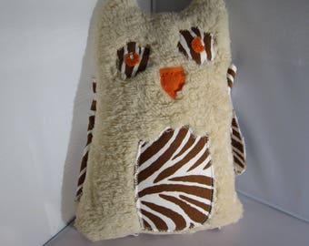 Furry Owl soft toy