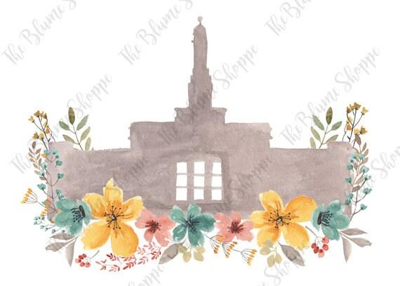 Edmonton Temple Vintage Floral
