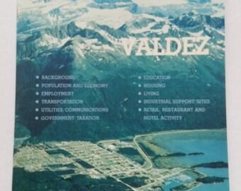 The Valdez Factbook 1983 Alaska Factbook Series Vital Statistics SC