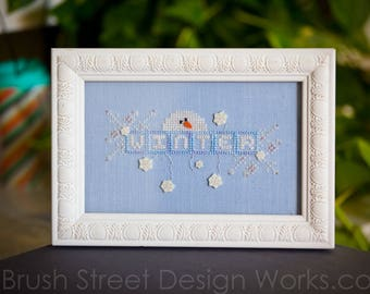 WINTER Cross Stitch Chart