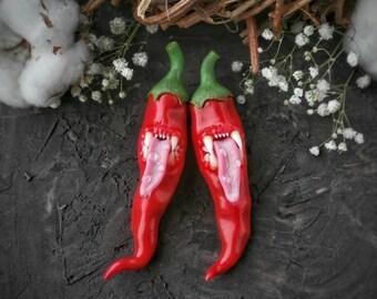 Chili pepper pendant