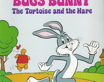 Bugs Bunny The Tortoise and the Hare Vintage Artist Storybook, C1979