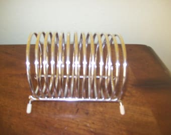 Silver Colored Mail Holder Desk Top Organizer