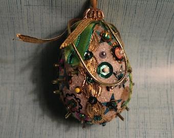 Handmade Vintage Sequined Ornament
