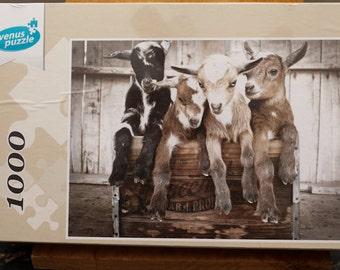 Baby Goats - Wish We Had Acres 1000 Piece Puzzle