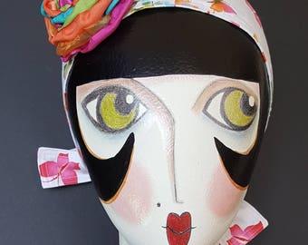 Handmade OOAK Butterfly Embellished Headband