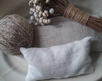 Antique French linen lavender sachet #2