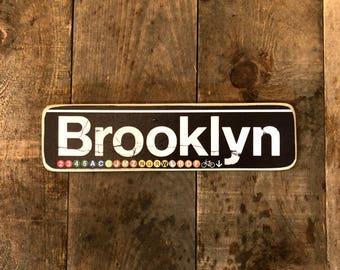Brooklyn - 4x15 in.