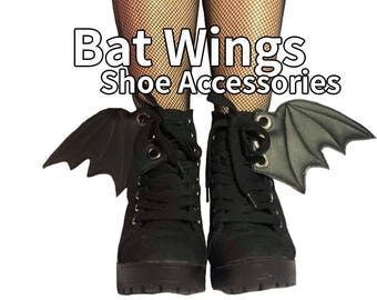 Bat wing add on shoe accessories