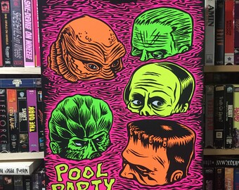 Pool Party Screen Print