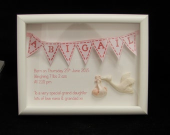 Baby Picture Frame, Picture Frame, New Born Picture Frame, Baby Gifts, Custom Baby Gifts, Personalised Baby Gift