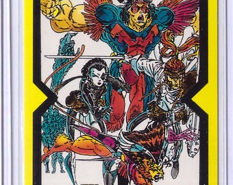 1991 X-Force Comic Images Card THE NEW