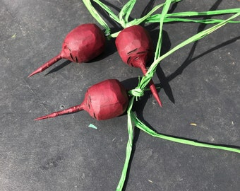 Hand crafted beets