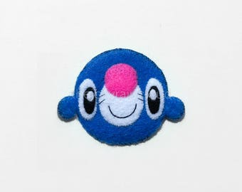 joyfully popping bubbles - exquisitely handsewn Popplio