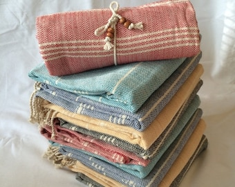 SALE Heavy strong thick premium quality hand-loomed Turkish cotton towel