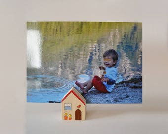 Cabin photo frame and placeholder small