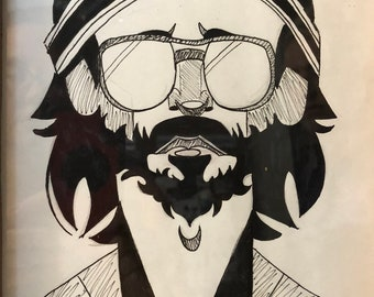 Richie Tenenbaum - print - The Royal Tenenbaums - Wes Anderson