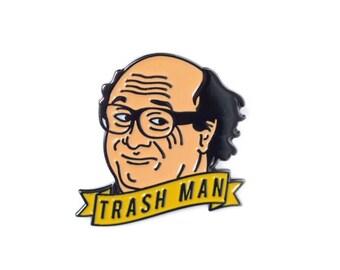 Frank Enamel Lapel Pin - Its Alway Sunny in Philadelphia Enamel Pin Badge
